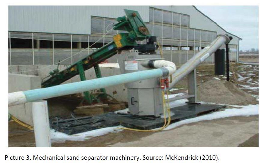 Kum ayırma makinesi USA
